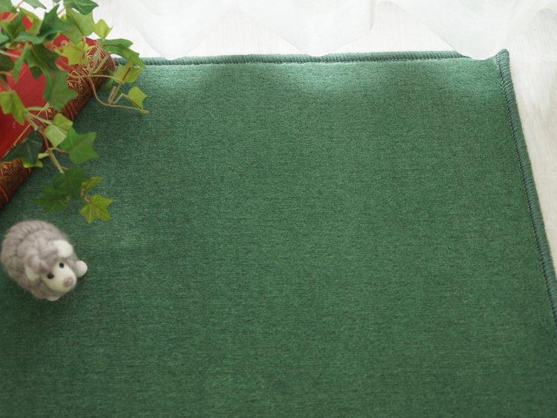 100サイズ 遊び毛の出にくい高機能ウールカーペット 【ウールネオ グリーン】