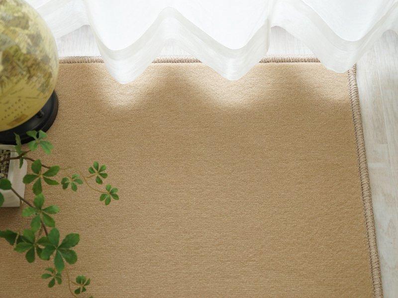 100サイズ はっ水・防汚で長く美しく!カラー豊富な多機能カーペット 【アバンス ベージュ】