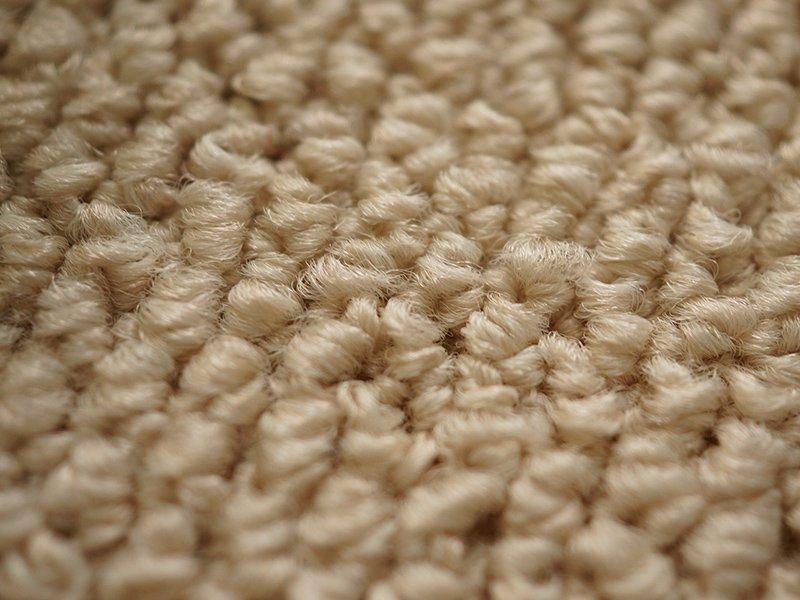 100サイズ 遊び毛の出ない清潔で快適な多機能カーペット 【ルーベル ライトベージュ】