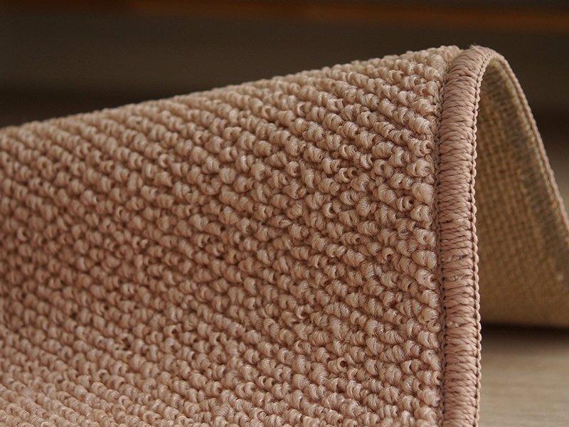 100サイズ 遊び毛の出ない清潔で快適な多機能カーペット 【ルーベル ピンク】