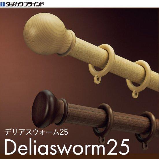 タチカワブラインド カーテンレール『デリアスウォーム25 正面付けセット』