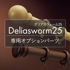 タチカワブラインド カーテンレール『デリアスウォーム25 オプション』