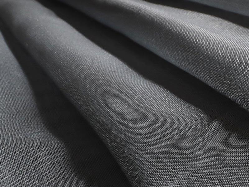 美しいグラデーション!透き通るような生地が魅力的なレースカーテン 『メローア グレー』