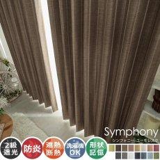 全15色のカラー♪高級感ある素材とデザインのドレープカーテン 『シンフォニー ユーモレスク』