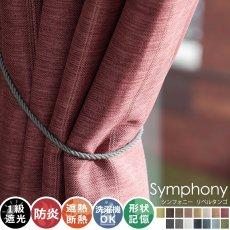 全15色のカラー♪高級感ある素材とデザインのドレープカーテン 『シンフォニー リベルタンゴ』