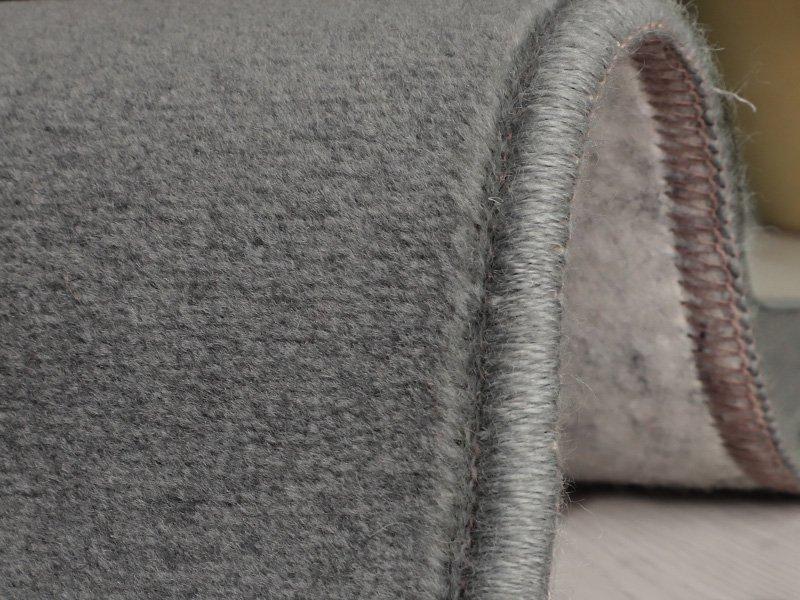 100サイズ 遊び毛の出にくい高機能ウールカーペット 【ウールネオ グレー】■欠品中(次回入荷未定)