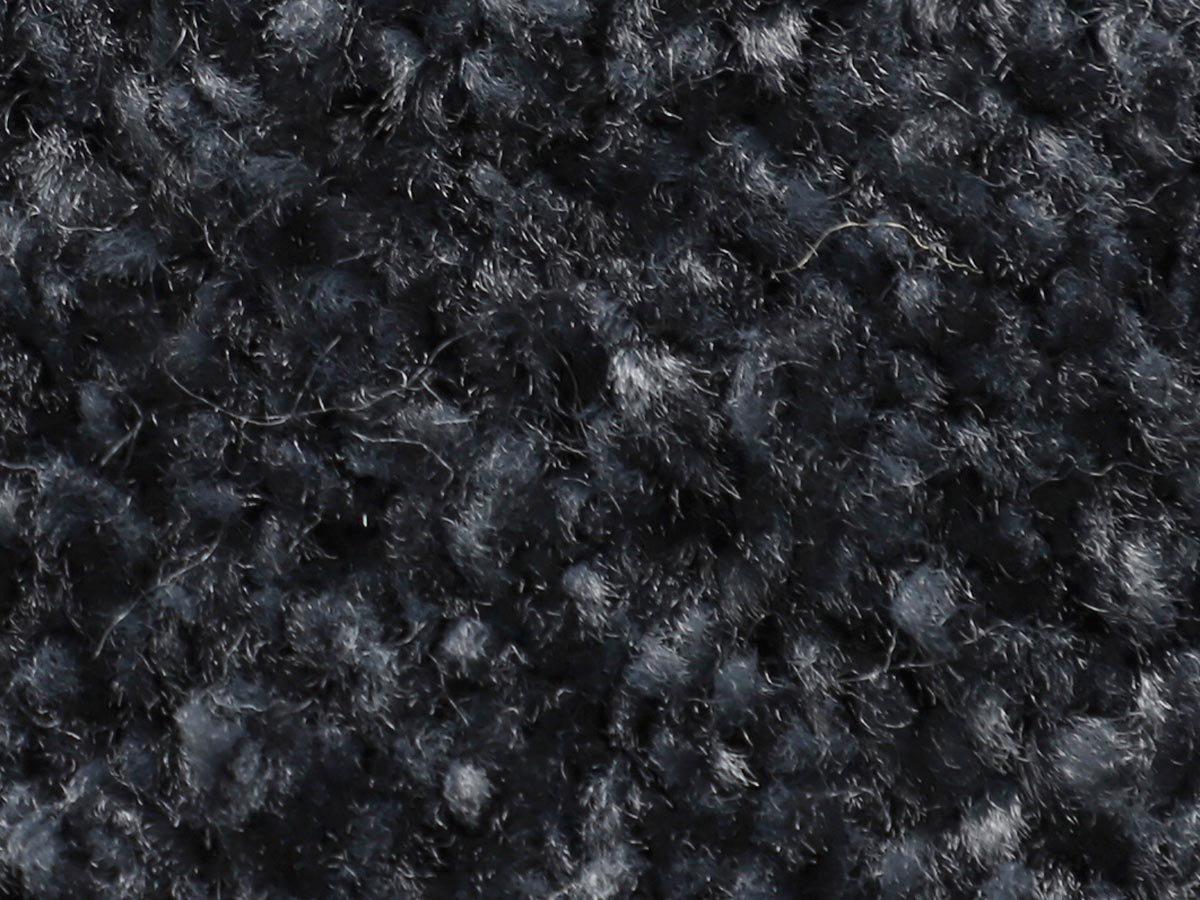 100サイズ ふわふわシャギーがエレガントな多機能カーペット 【ソルフィ ネイビー】