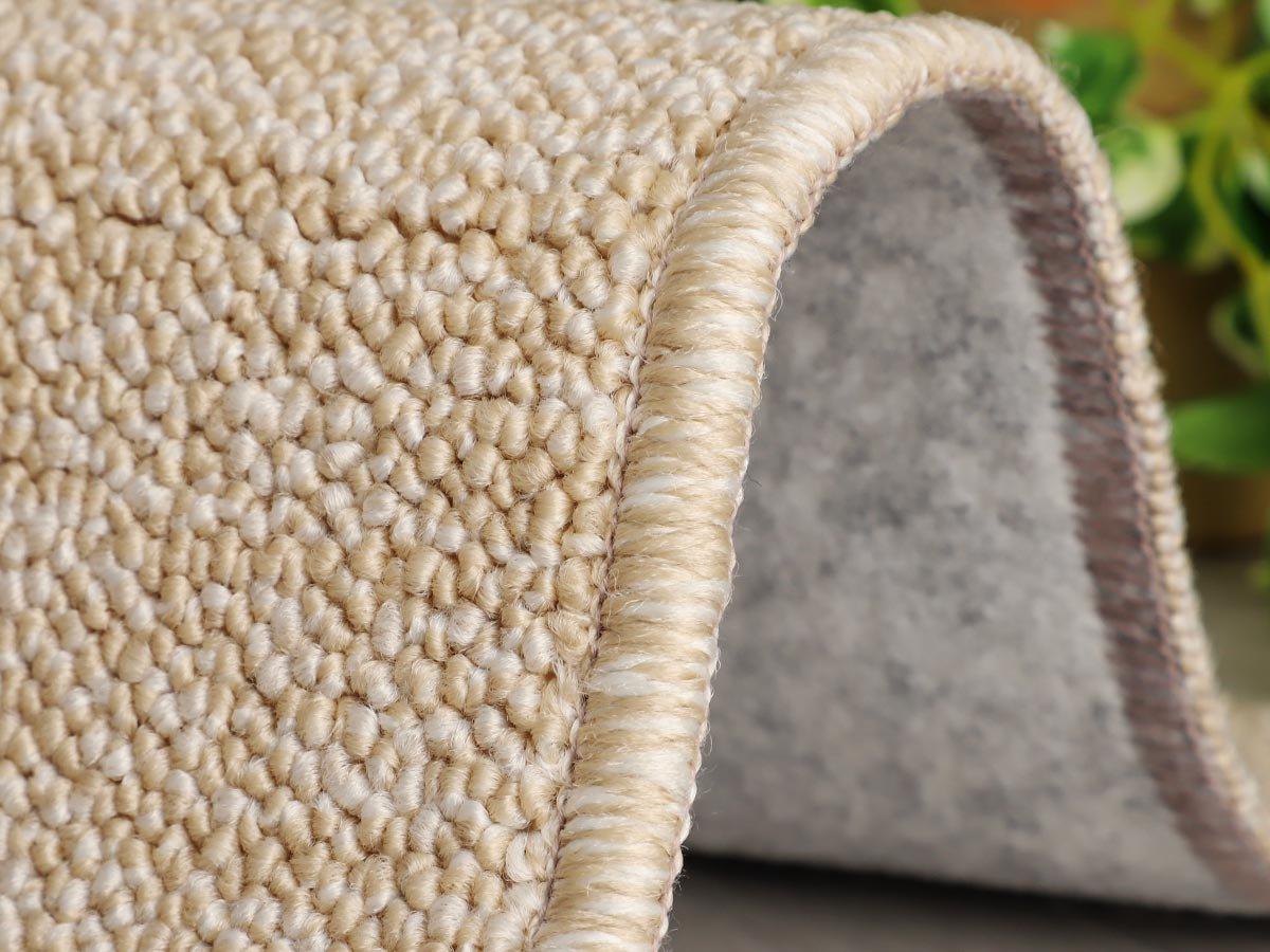 100サイズ 汚れが落ちやすいPTT繊維高機能カーペット【アーチ ベージュ】
