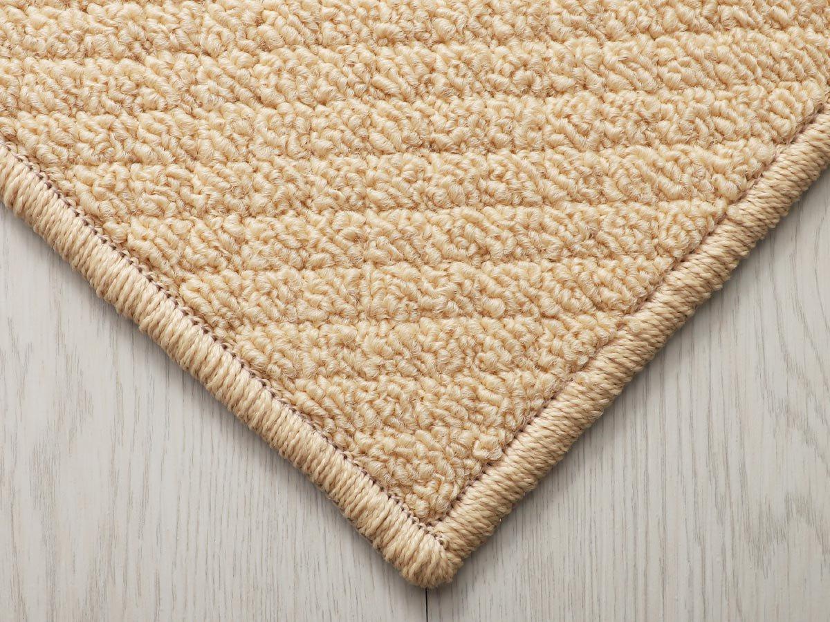 100サイズ びっくりするほど汚れが落ちるカーペット【フィールド ライトイエロー】