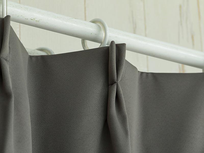 100サイズから選べる!1級遮光+防炎+遮熱+ウォッシャブル既製カーテン 『フローラ コール』
