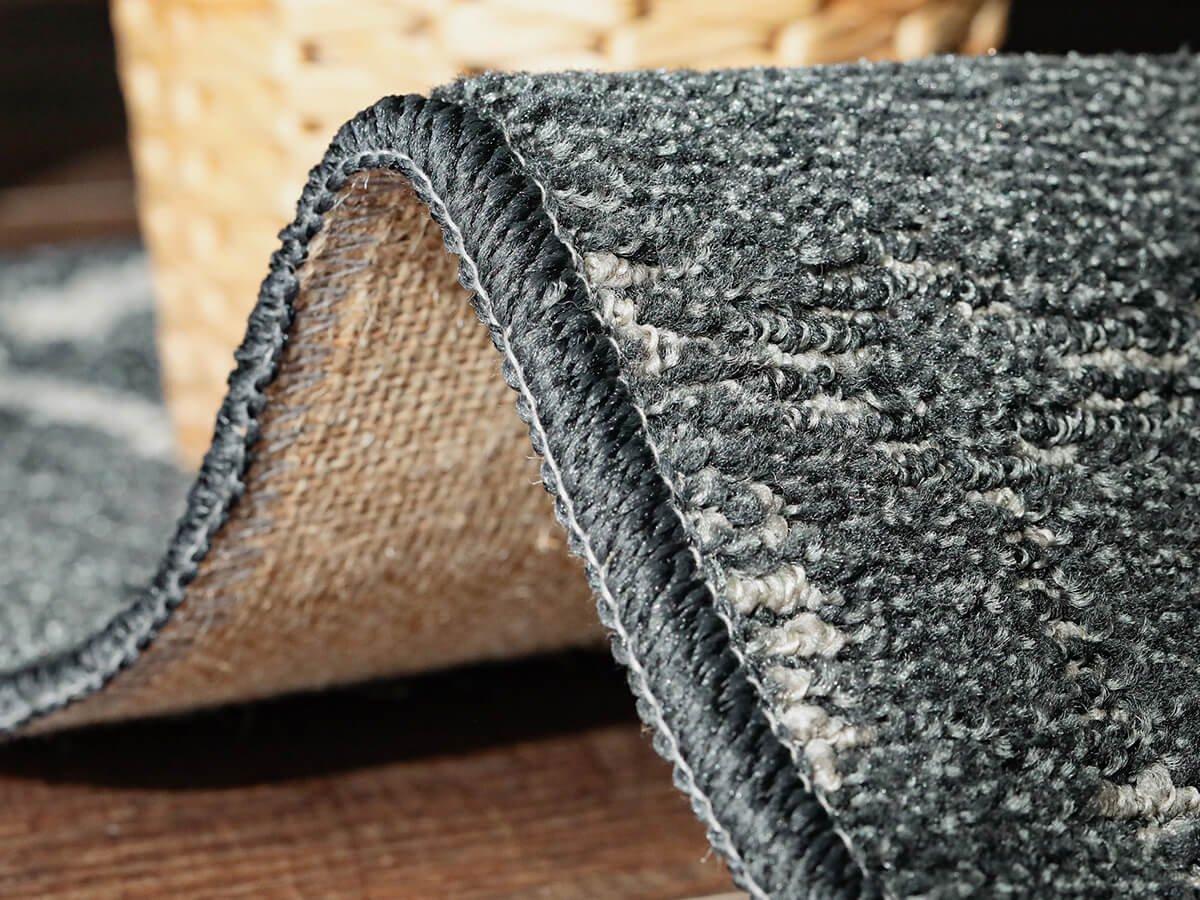 【訳アリ・アウトレット】300150 汚れが目立ちにくいおしゃれな100サイズオーダーカーペット『クサリ』約190×190cm■在庫限りで完売