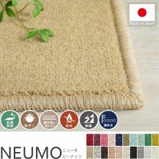 充実機能でずっと清潔に使える!柔らかな肌触りのカットパイル100サイズカーペット『ニューモ ピーナッツ』