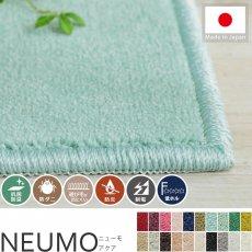 充実機能でずっと清潔に使える!柔らかな肌触りのカットパイル100サイズカーペット『ニューモ アクア』