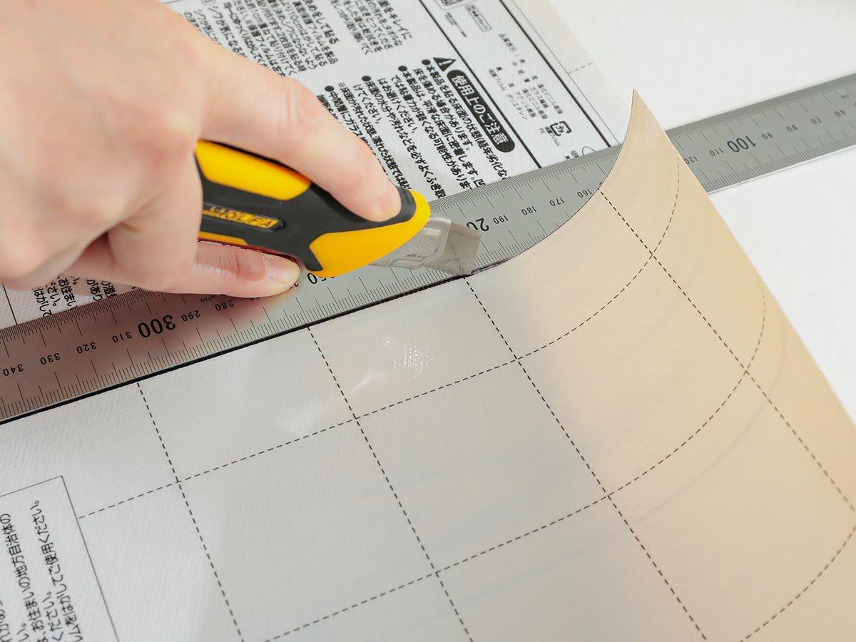 自宅で簡単DIY『ユカピタ モザイクタイル 約90x180cm』