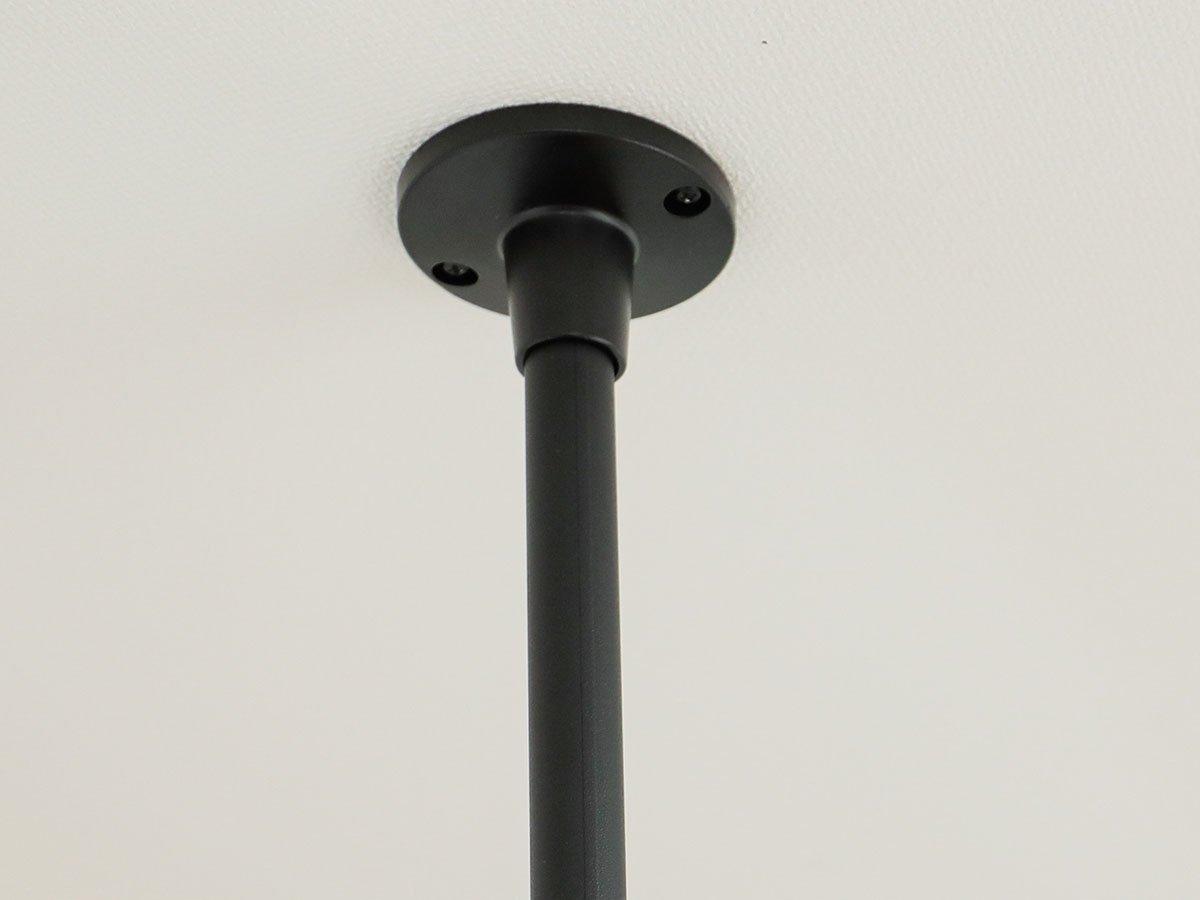 空間を有効活用!掛けるから始まる新しい暮らし 『ハンギングバー 天井付Lタイプセット』