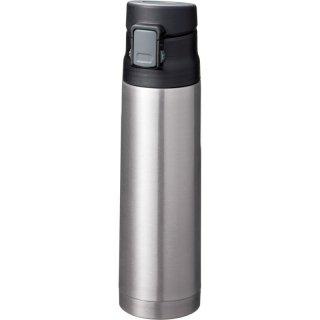 真空ステンレスワンタッチボトル500ml (シルバー)