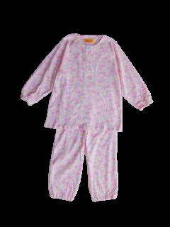 ベビー 女の子 長袖 かぶりパジャマ<br>「くも」 80-100