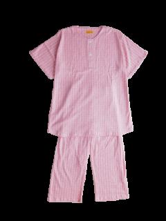 ジュニア 半袖 かぶりパジャマ<br>「ブロック」 150