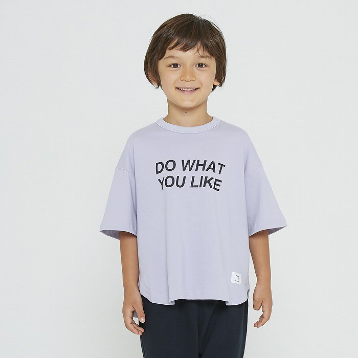 FOV(フォブ)|DO WHAT YOU LIKE Tシャツ|パープル|90〜170cm