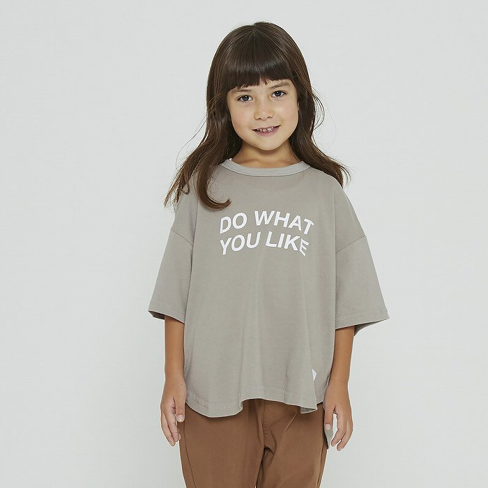 FOV(フォブ)|DO WHAT YOU LIKE Tシャツ|アッシュグレー|90〜170cm