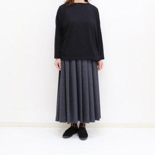 【Special sale 30%OFF】ボートネックワイド7分袖Tシャツ【Maison de PETITPOIS】