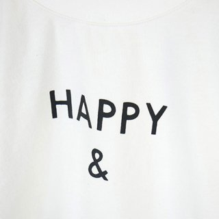 【FRIEND SHIP Fair Vol.2 30%OFF】CLEAR COTTON HAPPY & L/S T 【ARCH&LINE】