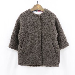 【FRIEND SHIP Fair Vol.2 30%OFF】KIDS ノーカラーコート 90cm-120cm【solbois】
