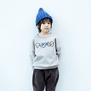 【FRIEND SHIP Fair Vol.2 30%OFF】KIDS ロゴルーススウェーター 130.140cm【6°vocale】