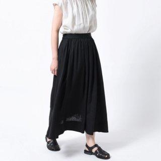 60s LINEN CLOTH ギャザースカート【LE GLAZIK】