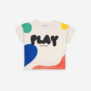 【Baby&Kids Fair 5%OFF】BABY Play Landscape Short Sleeve T-Shirt【BOBO CHOSES】