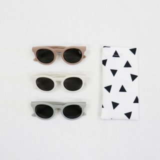 KIDS ROUND SUNGLASSE【chocolatesoup】