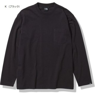 MENS L/S Heavy Cotton Tee【THE NORTH FACE】