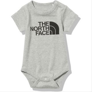 BABY S/S Smooth Cotton Rompers【THE NORTH FACE】