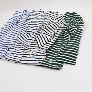40/2 JERSEY ボートネック7分袖Tシャツ【ORCIVAL】