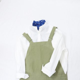 COTTON/LINEN WEATHER サロペット【DANTON】*