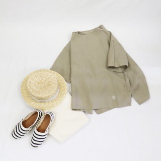 40s LINEN CLOTH 半袖プルオーバー【ORCIVAL】