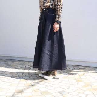 FS long flare skirt【caqu】