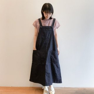 <img class='new_mark_img1' src='https://img.shop-pro.jp/img/new/icons14.gif' style='border:none;display:inline;margin:0px;padding:0px;width:auto;' />Denim Salopette Skirt 【Sarahwear】