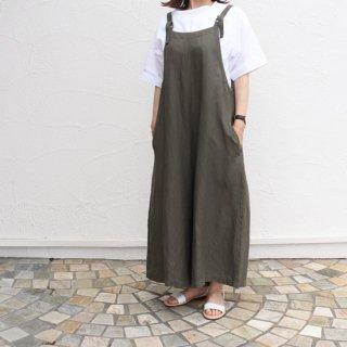 【MEMBER'S限定! 先行30%OFF】Lyocell Linen Twill Salopette Pants【Sarahwear】##