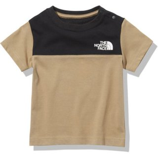 BABY S/S Blocked Tee 【THE NORTH FACE】