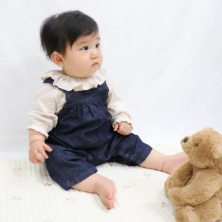BABY オーバルサロペット【FABRIQ REPORT】//