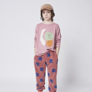 KIDS Fruits long sleeve T-shirt【BOBO CHOSES】