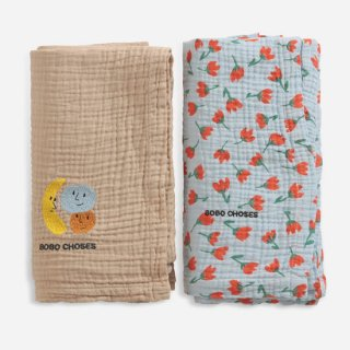 Fruits and Small Flowers muslin pack 【BOBO CHOSES】