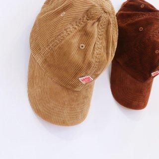 WIDE WALE CORDUROY 6PANEL CAP【DANTON】
