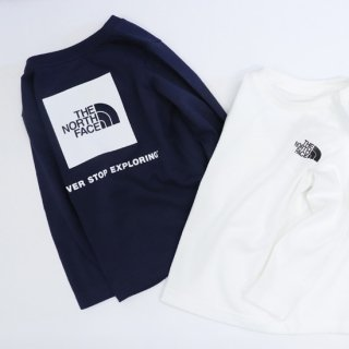 BABY L/S Square Logo Tee【THE NORTH FACE】