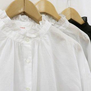 【Recommended】flare neck blouse【FABRIQUE en planete terre】