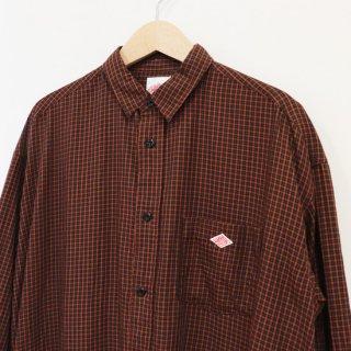 【Recommended】ロングシャツワンピース【DANTON】