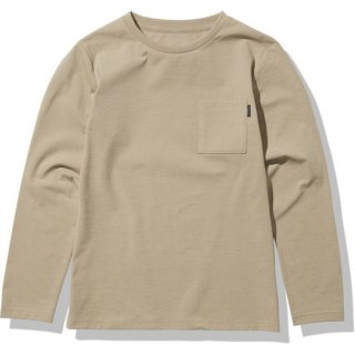 L/S Airy Relax Tee【THE NORTH FACE】