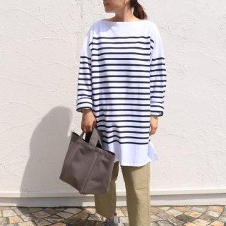 UNISEX BIGラッセルフレンチセーラーTシャツ【ORCIVAL】