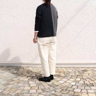 <img class='new_mark_img1' src='https://img.shop-pro.jp/img/new/icons14.gif' style='border:none;display:inline;margin:0px;padding:0px;width:auto;' />washable wool crew wide P/O【FABRIQUE en planete terre】